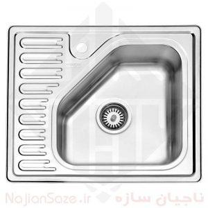سینک فانتزی استیل البرز مدل ۸۱۰/۵۰